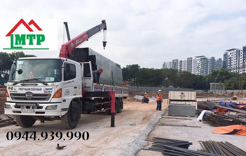 Vận chuyển thép xây dựng