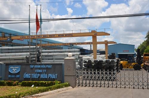 Công ty ống thép Hòa Phát