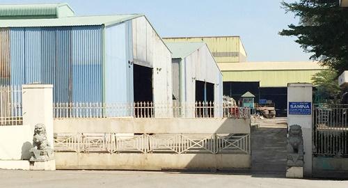 Nhà máy thép Samina