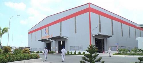 Nhà máy tôn thép Đông Á
