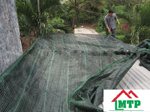 Lưới chống nóng mái tôn