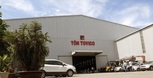 Nhà máy tôn tráng kẽm Tovico