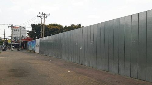 ưu điểm tôn làm hàng rào