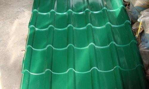 tôn ngói màu xanh rêu