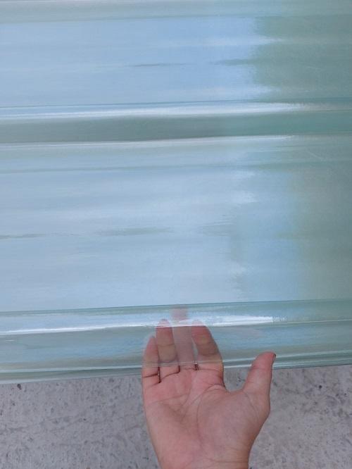 tôn nhựa phẳng