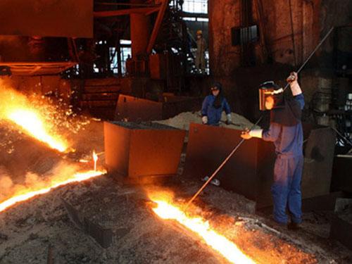 quy trình sản xuất thép