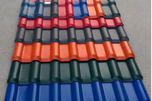 Tôn nhựa asa/pvc vật liệu hiện đại cho ngôi nhà