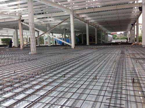 Sàn nhà thép tiền chế