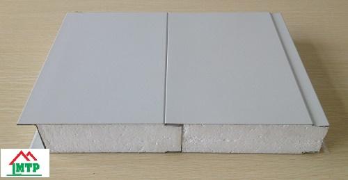 Cấu tạo của tấm vách ngăn tôn xốp cách nhiệt