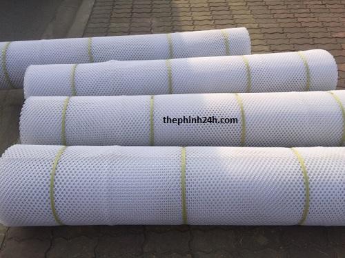 lưới thép b40 bọc nhựa trắng