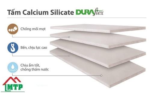 ưu điểm tấm calcium silicate