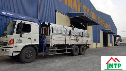 nhà máy thép hộp Ánh Hòa