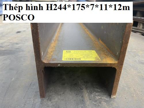 thép hình H244*175*7*11*12m POSCO
