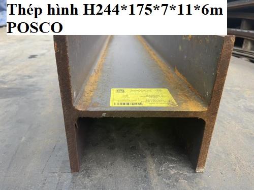 thép hình H244*175*7*11*6m POSCO